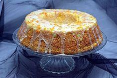 chec pufos, cu gust intens de portocale, dulce acrisor si extrem de parfumat. Se poate face chec in forma simpla, in forma de guguluf, in forma de savarina Vanilla Cake, Tiramisu, Cheesecake, Cooking, Sweet, Ethnic Recipes, Desserts, Food, Tricot