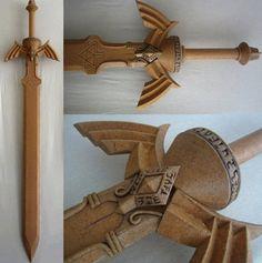 Reinforced Balsa Wood Blade with Worbla   Worbla.com