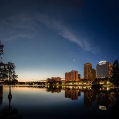 Lake Eola, Downtown Orlando, Florida