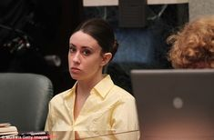Casey Anthony, who was acquitted of murdering her two-year old daughter, Caylee in 2011. Above she is pictured during a court appearance in July 2011