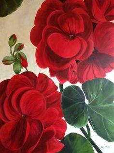 Beautiful geranium art!