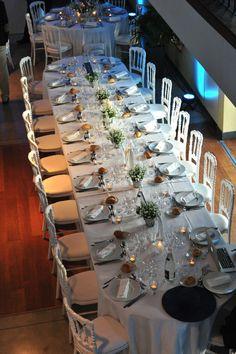 CHATEAU GRATTEQUINA  HORTENSIAS ET BOUGIES STEPHANIE DESCLOUDS FLEURISTE BORDEAUX TABLE DES MARIES