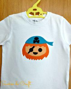 Camiseta pirata Playmobil