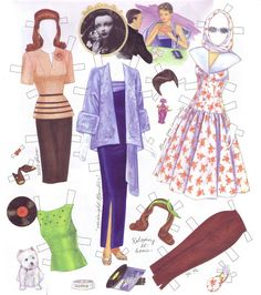 Gene Marshall - garcia palancar - Picasa Web Albums* The International Paper Doll Society by Arielle Gabriel for all paper doll and paper toy lovers. Mattel, DIsney, Betsy McCall, etc. Join me at ArtrA, #QuanYin5 Linked In QuanYin5 YouTube QuanYin5!