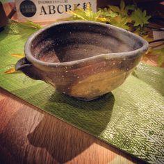 平岡仁さん作窯変縞片口十作酒器展は25日までの開催ですこれからの秋に向けてお気に入りの酒器を探してみませんか是非一度お越しください #織部 #織部下北沢店 #陶器 #器 #ceramics #pottery #clay #craft #handmade #oribe #tableware #porcelain