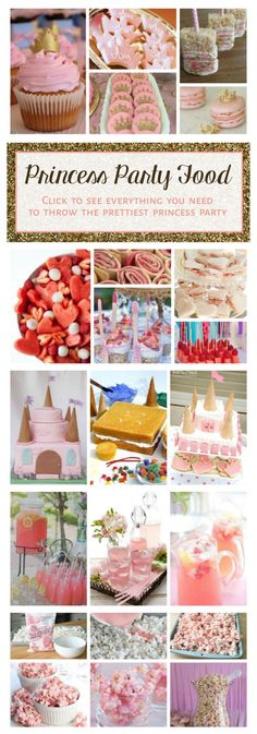 Princess Party Food Guide Ideas Decor Drinks Cookies Cake Cupcakes