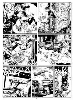Over the roofs: E. Abulì e Jordi Bernet – Torpedo, volume 3 Coloring Books, Coloring Pages, Comic Art, Comic Books, Comic Book Layout, Jordi Bernet, Samurai Art, Kraken, Grimm