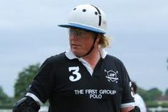 Chris Hyde from England is one fof the most experienced players on snow polo, and won in St. Moritz many times including the most recent tournament in 2013