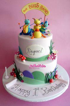 Big Bugs Band Baby TV cake