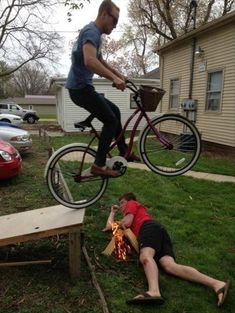 And don't even get them started with ramps. Once you give a man a ramp, it's game over. He's done.