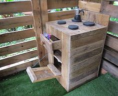 Kinder wooden stove made from reclaimed wood. Not2shabby Furniture Catalogue
