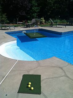 Backyard Floating Golf Green Pool Toy for Sports and Games   eBay