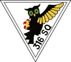 """#316 """"City of Warsaw"""" Polish Fighter Squadron, was a Polish fighter squadron formed in Great Britain as part of an agreement between the Polish Government in Exile and the United Kingdom in 1941. It was one of several Polish fighter squadrons fighting alongside the Royal Air Force during World War II"""