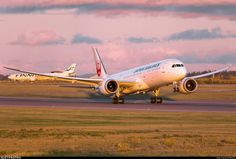 Japan Airlines Boeing 787-9 Dreamliner departing Helsinki-Vantaa