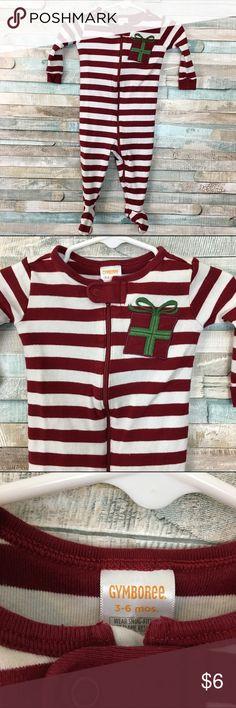 Gymboree xmas pajamas 3-6m In EUC from a smoke free home size 3-6m Gymboree Pajamas
