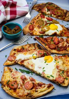 breakfast pizza :D