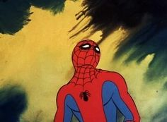 "atomic-chronoscaph: "" Psychedelic Spider-Man - & seasons produced by Ralph Bakshi "" Ralph Bakshi, Spider Man 2, Psychedelic, Weird, Marvel, Seasons, Fictional Characters, Art, Outlander"
