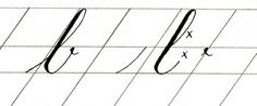 Copperplate miniscules, part 2