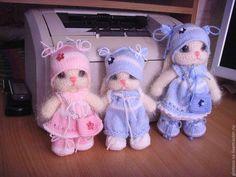 Állatfigurák, kézzel készített.  Fair Masters - kézzel készített.  Vásárlás Bunny.  Kézzel készített.  Bézs, nyashki, fonal kötéshez Crochet Rabbit, Crochet Toys, Crochet Baby, Knit Crochet, Easy Crochet, Hobbies And Crafts, Diy And Crafts, Craft Items, Softies