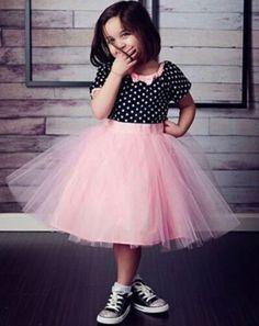 Polka Pink Cute Dress