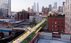 Section two of New York City's Highline Park opens.
