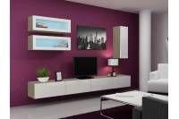 Obývacia stena Cama VIGO 17   Katalognabytku.sk Modern Tv Cabinet, Tv Cabinet Design, Tv Wall Design, Wall Cupboards, Tv Cabinets, Tv Entertainment Units, Living Room Designs, The Unit, Entertaining