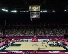 North Greenwich Arena Paralympic Wheelchair Basketball