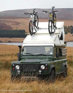 .Bike equipped Landy. Yes, it's here twice, but how perfect is this?