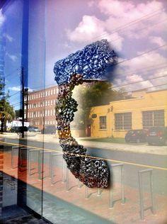 Lynda Benglis exhibition at SCADMOA in #Savannah