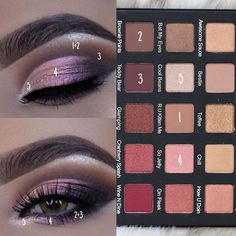 Violet Voss Holy Grail palette, look by @ayeeshabx