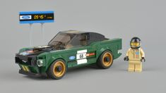 Review: 75884 1968 Ford Mustang Fastback | Brickset: LEGO set guide and database