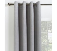 Buy Collection Linen Look Blackout Curtains - 117x137cm - Stone at Argos.co.uk, visit Argos.co.uk to shop online for Curtains, Blinds, curtains and accessories, Home furnishings, Home and garden
