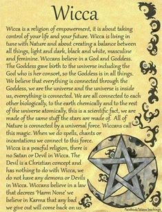 I chose this because it describes Wicca in a summary. I see Wicca as a form of feminism because of religious freedom, based on ones own interpretation. I think about how women used religion to as a way to deal with sexism in their everyday lives without o Witch Spell Book, Witchcraft Spell Books, Wicca Witchcraft, Magick Book, Witch Craft, Witch Board, Wiccan Witch, Practical Magic, Tarot Spreads