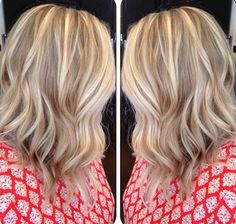 Long Inverted Blonde Bob