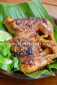 Diah Didi's Kitchen: Ayam Taliwang Spicy Dishes, Savoury Dishes, Lombok, Indonesian Cuisine, Indonesian Recipes, Diah Didi Kitchen, Asian Recipes, Healthy Recipes, Malay Food