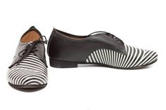 CIJ Sale 20% OFF Leather Shoes Printed Oxford Shoes by BangiShop