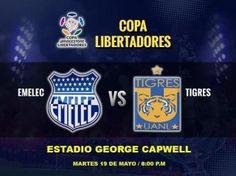 Ver Emelec vs Tigres en Vivo – Copa Libertadores 2015