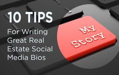 Want to create a stand-out profile on social media? Use these 10 tips to create great real estate social media bios that hook readers and attract followers. http://plcstr.com/1naJqMN