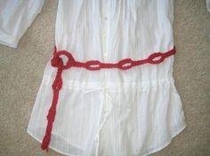 Crochet Dreamz belt free pattern