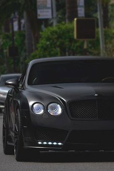 The Bentley continental is one of the most iconic Bentley's of all time due to its bold front.
