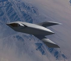 bird of prey 920 26 Before the X 45, Boeing had a concept: YF 118G Bird of Prey (35 HQ Photos)