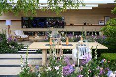 Chelsea Flower Show 2016 Retrospective: The LG Smart Garden – The Frustrated Gardener Chelsea Garden, Smart Garden, Chelsea Flower Show, Outdoor Furniture Sets, Outdoor Decor, Vines, Garden Design, Cottage, Table Decorations