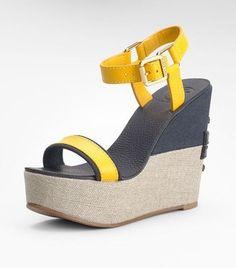 ShopStyle: Carlee High Wedge Sandal