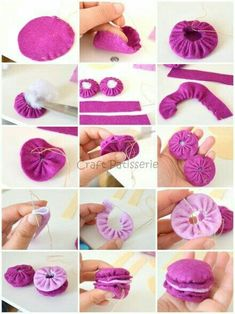 Best 12 Easy DIY Felt Crafts, Felt Crafts Patterns and Felt Crafts Patterns. Felt Crafts Patterns, Felt Crafts Diy, Felt Diy, Fall Crafts, Felt Cake, Felt Cupcakes, Crochet Kawaii, Felt Play Food, Felting Tutorials