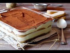 Tiramisù Make It Yourself, Dining, Ethnic Recipes, Desserts, Food, Youtube, Mascarpone, Tailgate Desserts, Deserts