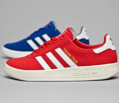 adidas Originals Trimm-Trab-Red and Blue (Size Exclusive)