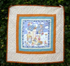 This quilt will be donated to a too early born baby