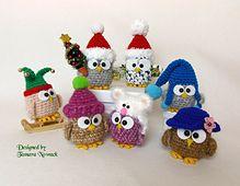 Ravelry: Owls in Hats pattern by Tamara Nowack