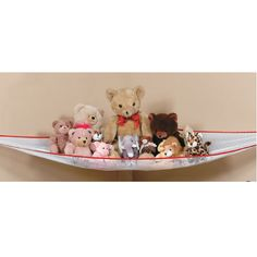 The Stuffed Toy Organizer is perfect for storing and displaying the many toys of your children $6.99