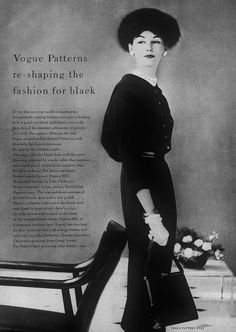 Vogue 1956 Photo by John Rawlings